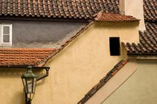 Golden Lane, Prague, Czech Rep. Stock Photography