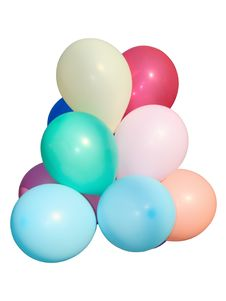Free Colored Balloons. Royalty Free Stock Image - 15924226