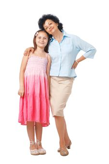 Free Granny And Granddaughter. Royalty Free Stock Images - 15924409