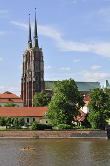 Free St. John Cathedral Church In Wroclaw (Breslau) Royalty Free Stock Photos - 15924988