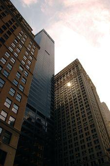 Free Buildings Of NY Royalty Free Stock Photos - 15925178