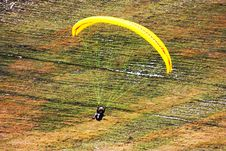 Free Paraglider Flight Stock Images - 15925254