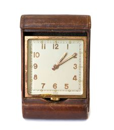 Free Vintage Square Clock In Front Stock Photos - 15925673