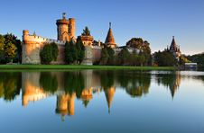 Free Laxenburg Water Castle Stock Images - 15925724