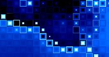 Blue Rectangles Background Royalty Free Stock Photography