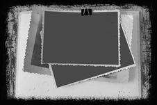 Free Blank Photo Frames Royalty Free Stock Image - 15925776