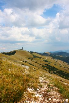 Beautiful Landscapes Of The Apennines Royalty Free Stock Image