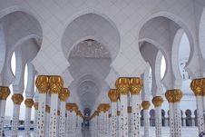 Free Zayed Mosque Stock Image - 15926411