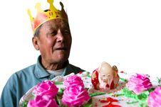 Free Happy Birthday To Grandpa Royalty Free Stock Images - 15926639