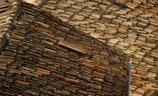 Free Old Teracotta Roofs Stock Image - 15926891