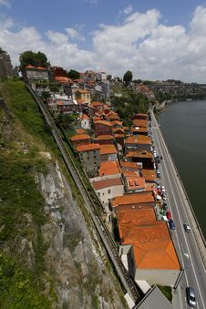 Porto Riverside View, Portugal Stock Photography