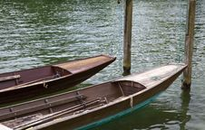 Free Punts On The River Royalty Free Stock Photography - 15927057