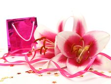 Free Pink Lilies Royalty Free Stock Images - 15927469