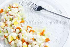 Free Christmas Potato Salad Stock Photos - 15928023