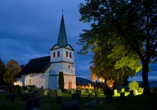 Free Church, Norway Royalty Free Stock Images - 15928179