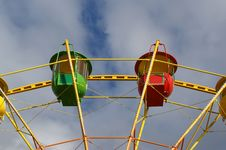 Attraction (Carousel) Ferris Wheel Stock Photography