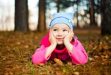 Free Girl In The Park Stock Photography - 15929732