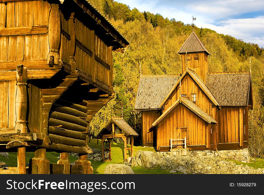 Wooden church, Uvdal Stavkirke