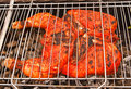 Free Hen On Grill Stock Photos - 15930703