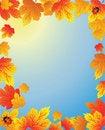 Free Autumn Frame Stock Images - 15932174