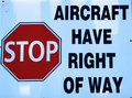 Free Aircraft Have Right Of Way Royalty Free Stock Photo - 15935135