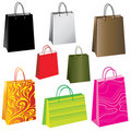 Free Colorful Paper Bags Stock Photos - 15939823