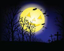 Free Halloween Night Stock Images - 15931414