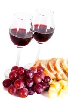 Free Wine And Grapes Stock Photography - 15931842
