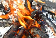 Free Controlled Fires Royalty Free Stock Photography - 15931947