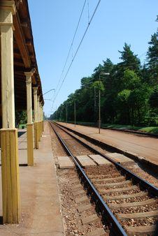 Free Railroad Track Royalty Free Stock Photo - 15932125