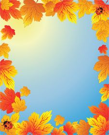 Free Autumn Frame Stock Images - 15932174