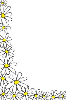 Free Floral Frame Royalty Free Stock Image - 15932196