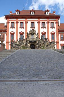 Troja The Prague Castle Stock Photos