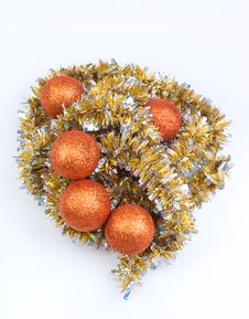 Free Balls For Christmas Decoration Royalty Free Stock Image - 15932816
