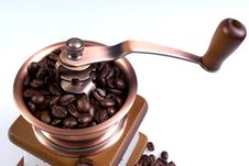 Free Clouse-up Of Ancient Coffee Grinder Royalty Free Stock Photo - 15932825