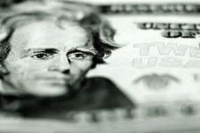 Free Cash Twenty Dollar Bill Royalty Free Stock Photo - 15932925