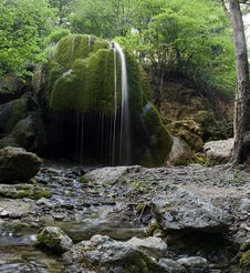 Free Waterfall Silver Stream Royalty Free Stock Images - 15933519