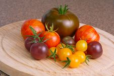 Free Heirloom Tomatoes Royalty Free Stock Image - 15933826