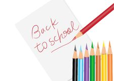 Free Back To School Poster Stock Photos - 15934053