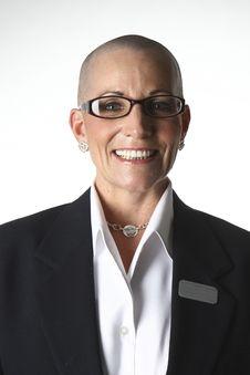 Free Bald Lady Stock Photos - 15934353