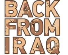 Free Back From Iraq Camouflage Stock Photo - 15934440