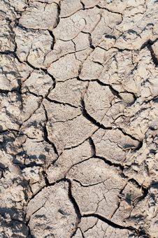 Free Dry Cracked Soil Stock Photography - 15934542