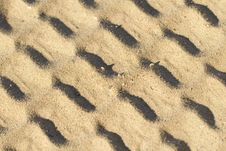 Free Pattern In The Sand Stock Photography - 15935232