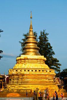 Free Thai Pagoda Stock Photography - 15935432