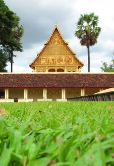 Free Laos Temple In Vientiane ,  Capital Of Laos Stock Photo - 15935660