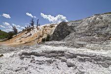 Yellowstone Hot Springs Royalty Free Stock Images