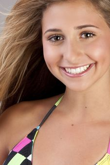 Free Cute Blond Teen Royalty Free Stock Image - 15936226