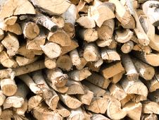 Free Firewood Royalty Free Stock Photography - 15936407