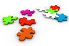 Free Puzzle Stock Image - 15936421