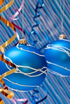 Blue Balls Royalty Free Stock Image